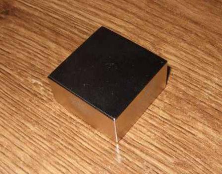 40x40x20 N40 (60kg) Téglatest Neodym mágnes