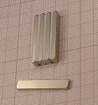 40x7x2,4 mm. N38SH Téglatest Neodym mágnes