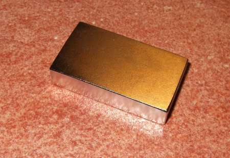 45x25x10 mm. N35 Neodym téglatest mágnes