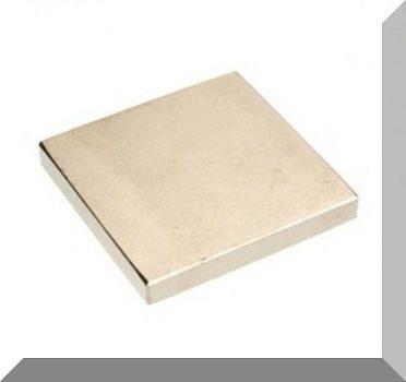 45x45x6 N40 Neodym téglatest mágnes