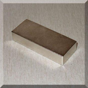 50x20x10 N35H Hasáb alakú Neodym mágnes