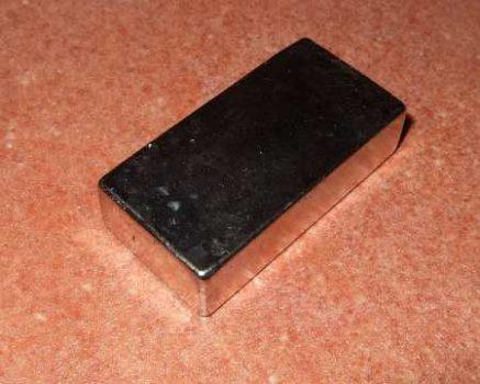 50x25x12 mm. Neodym téglatest mágnes