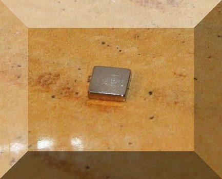 5x5x1,2 mm. N50 Neodym téglatest mágnes