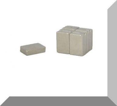 7x5x2 mm. N50 Neodym téglatest  mágnes