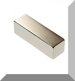 50x15x15 mm. N48 Téglatest NdFeB mágnes