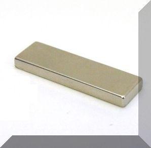 50x15x5 mm. N40 Téglatest Neodym mágnes