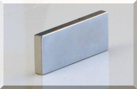 50x20x5 mm. N38 Téglatest Neodym mágnes