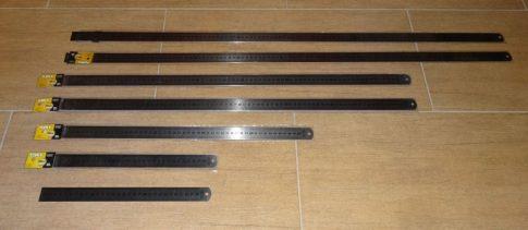 Acélvonalzó mágnesezhető 50cm.