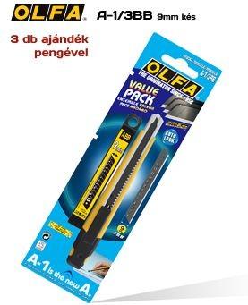 Olfa A-1/3BB 9mm. automata vágókés