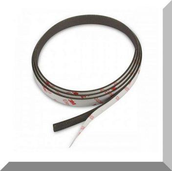 10 mm széles 1,5 mm vastag Öntapadós Neodym mágnesszalag 1 fm. (10x1,5 mm.)