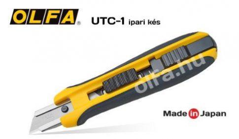 UTC-1 Ipari OLFA kés (Trapéz és horgas pengékhez)