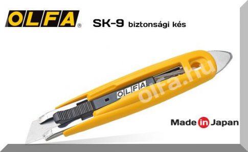OLFA SK-9 egy 18 mm.-es ipari biztosági kés