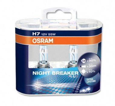 Osram Night Braker H7 Autósizzó 12V. (1pár)