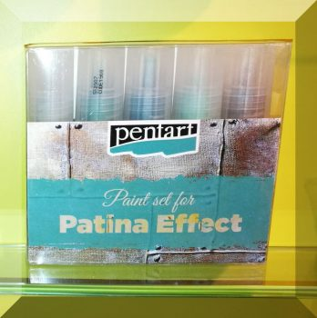 Patina hatás-szett 5x20 ml.