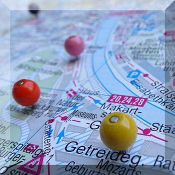 Térkép jelölő mágnes (választható színben) D8 mm. (kifutó típus)