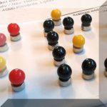 Térképtű mágneses (választható színben) D5 mm.